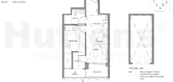 parc-clematis-floor-plan-1br-s3-517sf-singapore