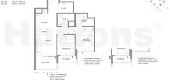 parc-clematis-floor-plan-2br-s1-743sf-singapore